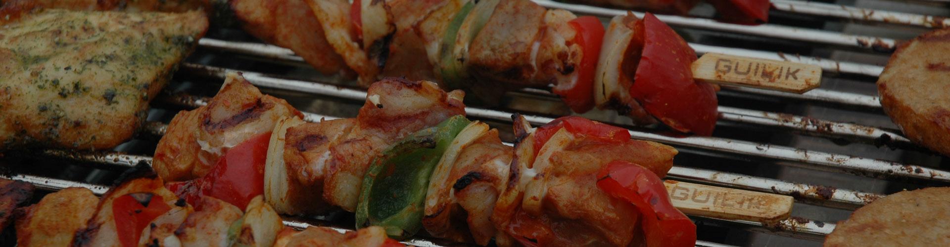 Spiezen op de barbecue