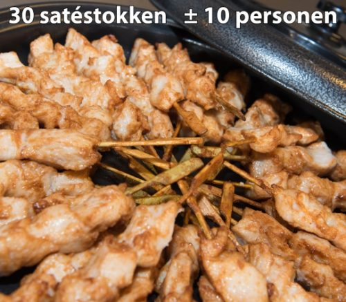 Party-Pan klein: 30 kipsatestokken