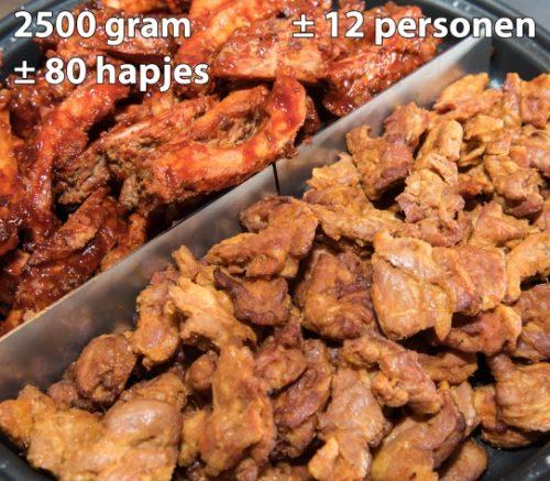 spare ribs en Zwolsche speklapjes