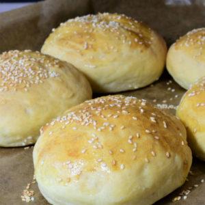 Broodjes voor de hamburger