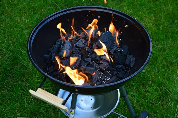 Aanmaken barbecue