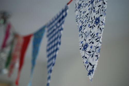 Vlaggetjes versiering