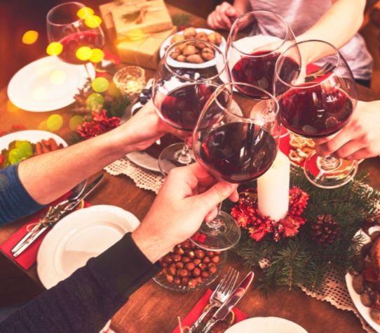 kerst proosten borrel