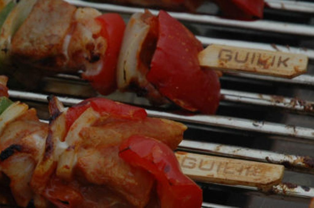 Spiesjes-op-barbecue