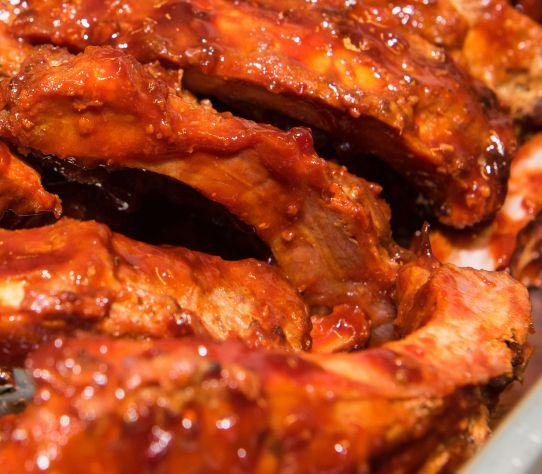 spareribs snack dishes