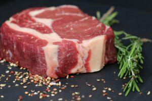 biefstuk bereiden op de bbq